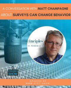 Surveys to Change Customer Behavior